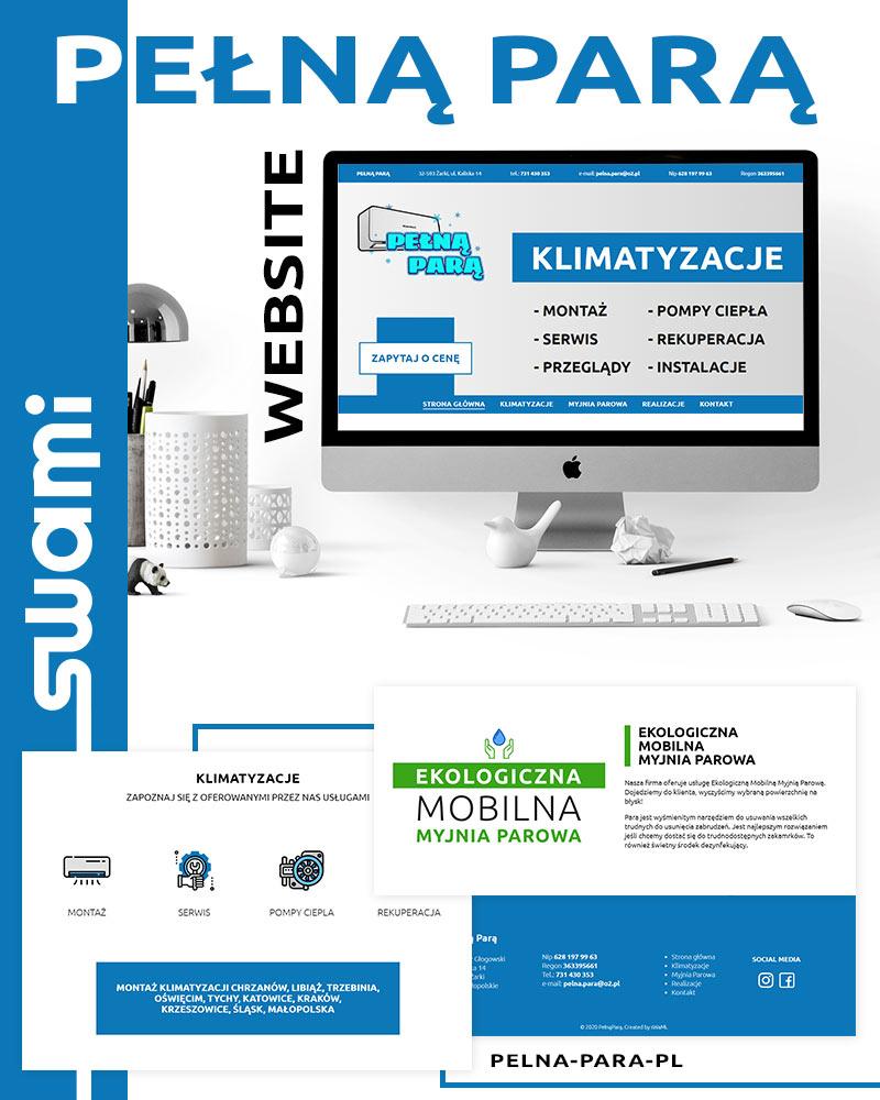 Pełną-Parą - Strona www - Portfolio - sWaMi