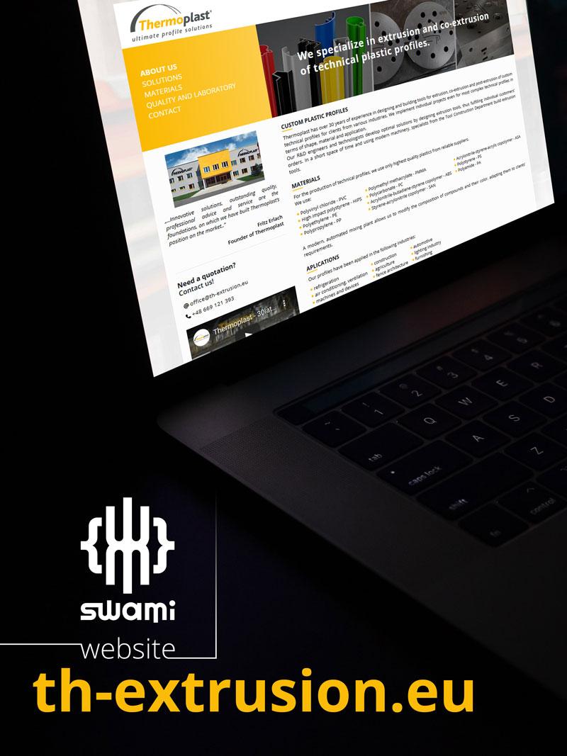 Thermoplast - Strona www - Portfolio - sWaMi
